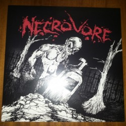 """NECROVORE """"Abysmal Plains Of Hell"""" LP (RED)"""