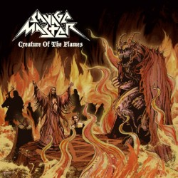 "SAVAGE MASTER ""Creature of the Flames"" CD"