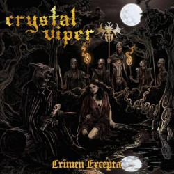 "CRYSTAL VIPER ""Crimen Excepta"" CD"