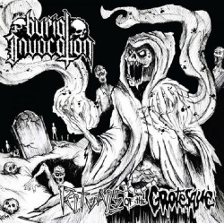 "BURIAL INVOCATION ""Rituals Of The Grotesque"" CD"