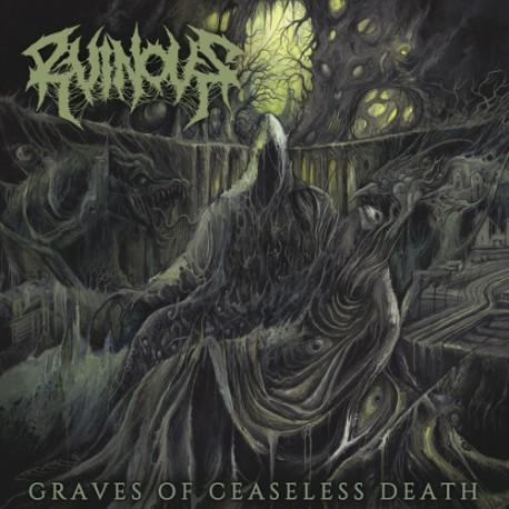 "RUINOUS ""Graves of Ceaseless Death"" LP"