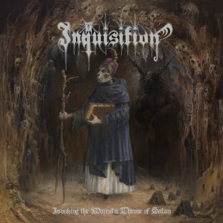 """INQUISITION """"Invoking the Majestic Throne of Satan"""" CD"""