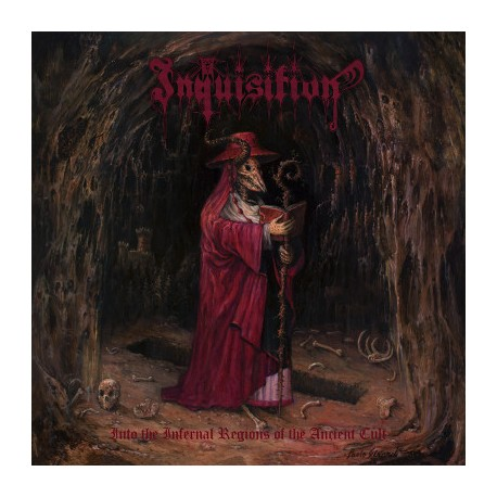 """INQUISITION """"Into the Infernal Regions of the Ancient Cult"""" CD"""
