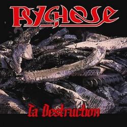 "PSYCHOSE ""Ta Destruction"" CD"