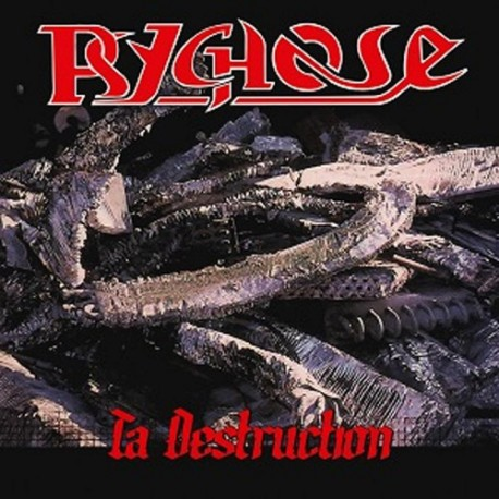"PSYCHOSE ""Ta Destruction"" CD"