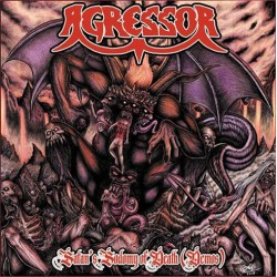 "AGRESSOR ""Satan's Sodomy Of Death"" CD"