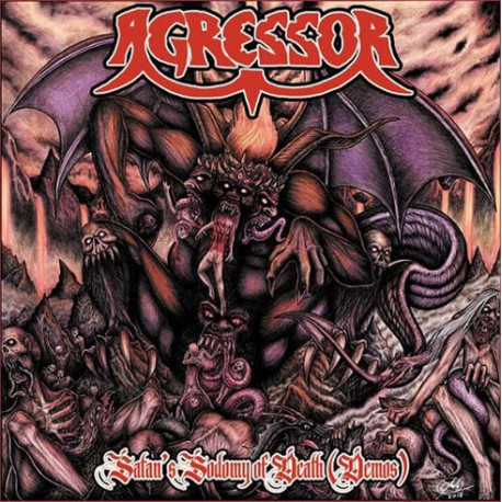 "AGRESSOR ""Satan's Sodomy Of Death"" CD"