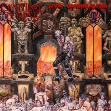 "CANNIBAL CORPSE ""Live Cannibalism"" CD"