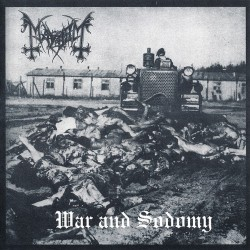 "MAYHEM ""War And Sodomy"" CD"