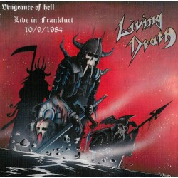 "LIVING DEATH ""Live Frankfurt 84"" CD"