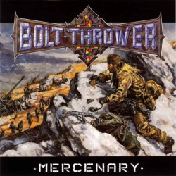 "BOLT THROWER 'Mercenary"" CD"