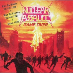 "NUCLEAR ASSAULT ""Live London + Zwolle"" CD"