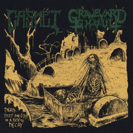 "GRAVEYARD GHOUL /CASKET Split 7""EP"