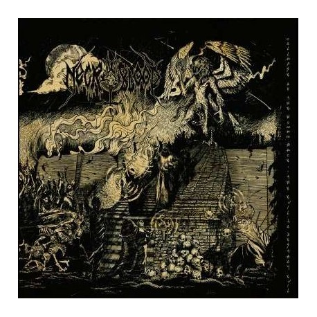 """NECROBLOOD """"Collapse of the Human Race"""" LP"""