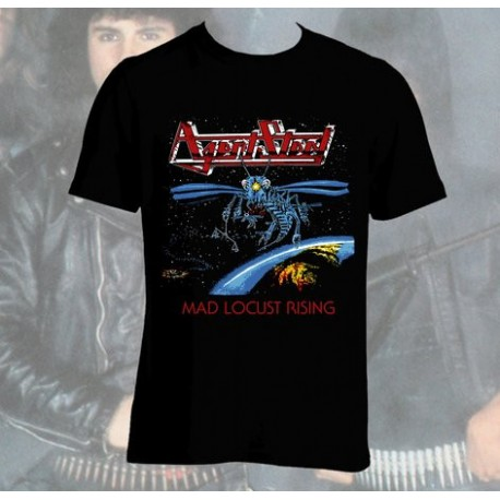 "AGENT STEEL ""Mad Locust Rising"" T-Shirt"