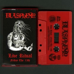 "BLASPHEMY ""Live Ritual - Friday the 13th"" K7"