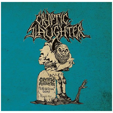 """CRYPTIC SLAUGHTER """"Life In Grave"""" LP"""