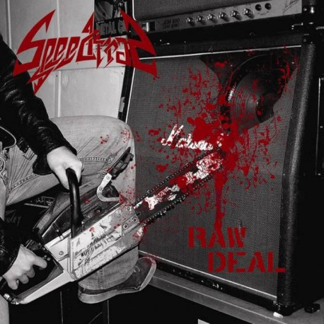 """SPEEDTRAP """"Raw Deal"""" CD"""