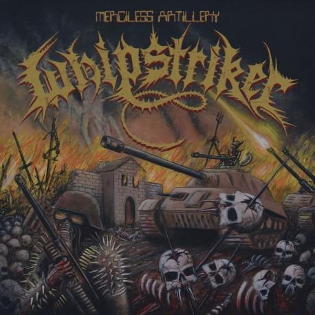 """WHIPSTRIKER """"Merciless Artillery"""" LP"""