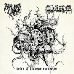 "CADAVERIC FUMES / SKELETHAL ""Heirs of Hideous Secrecies"" 7""EP"
