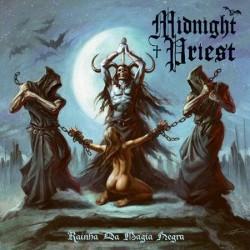 """MIDNIGHT PRIEST """"Rainha Da Magia Negra"""" LP"""