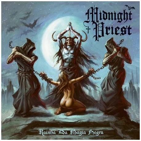 "MIDNIGHT PRIEST ""Rainha Da Magia Negra"" LP"