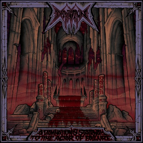 "EXTIRPATION ""A Damnation's Stairway To The Altar Of Failure"" CD"