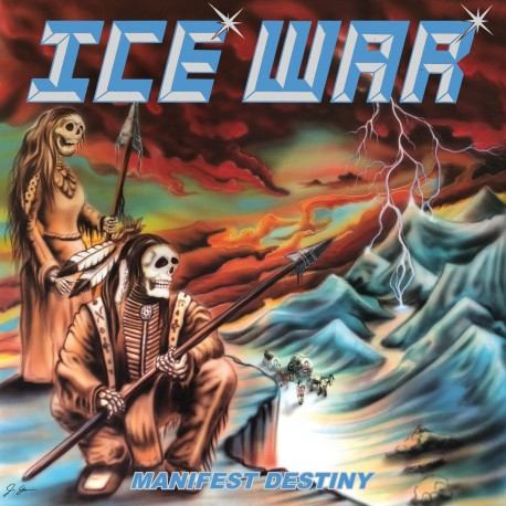 "ICE WAR ""Manifest Destiny"" LP"