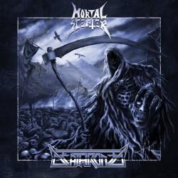 "MORTAL SCEPTER / DEATHRONED ""S/T"" Split-LP"