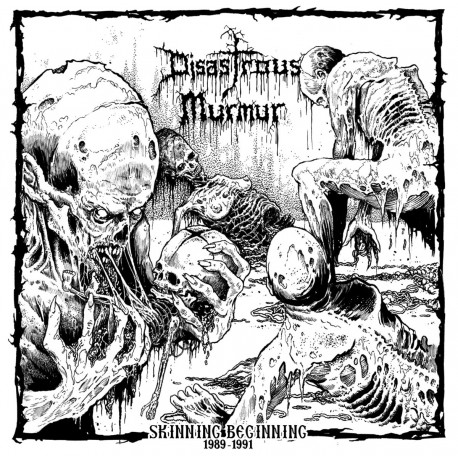 "DISASTROUS MURMUR ""Skinning Beginning 1989-1991"" LP"