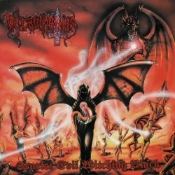 "NECROMANTIA ""Scarlet Evil Witching Black"" K7"