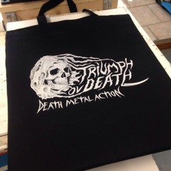 "TRIUMPH OV DEATH ""Logo"" ToD-bag"