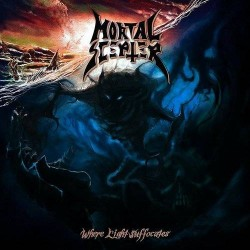 "MORTAL SCEPTER ""Where Light Suffocates"" CD"