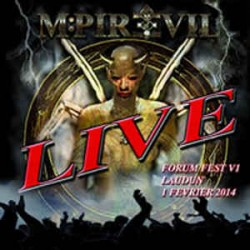"MPIRE OF EVIL ""Live Forum Fest"" CD"