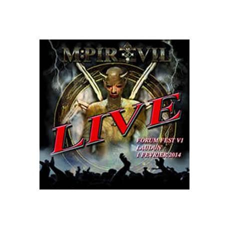 "MPIRE OF EVIL ""Live Forum Fest"" CD"