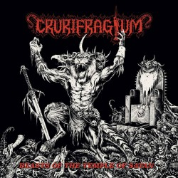 "CRURIFRAGIUM ""Beasts of the Temple of Satan"" LP"
