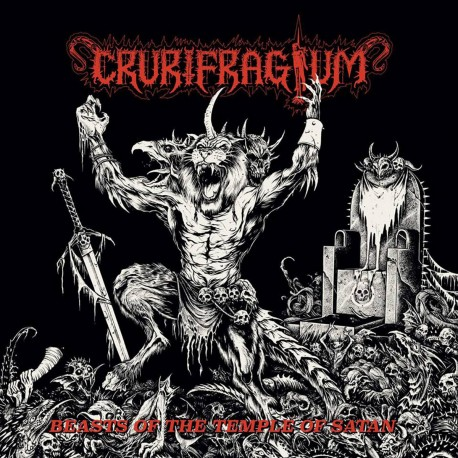 "CRURIFRAGIUM ""Beasts of the Temple of Satan"" LP"
