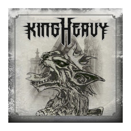 "KING HEAVY ""S/T"" CD"