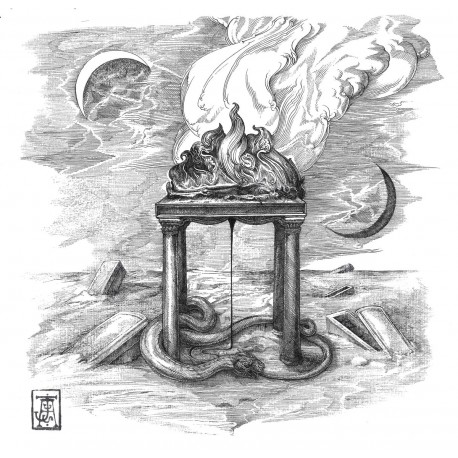 """OBSCURE BURIAL """"S/T"""" LP"""
