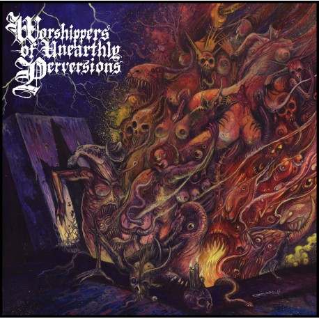 "BEASTIALITY ""Worshippers of Unearthly Perversions"" CD"