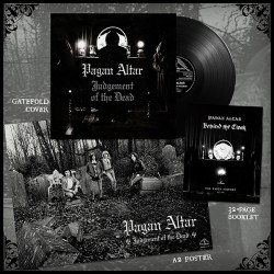 "PAGAN ALTAR ""Judgement of The Dead"" LP"