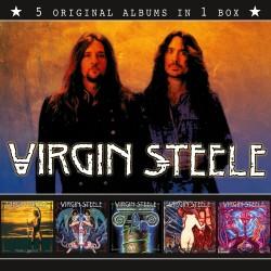 "VIRGIN STEELE ""5 Original Albums in 1 Box"" Boxset CD"
