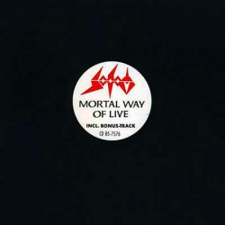 "SODOM ""Mortal Way of Live"" CD"