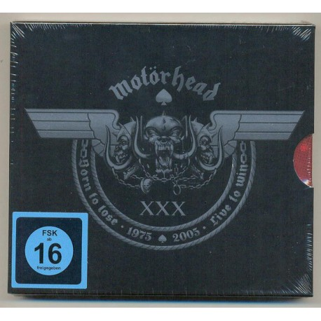 "MOTÖRHEAD ""Inferno"" 30th Anniversary Edition CD + DVD"