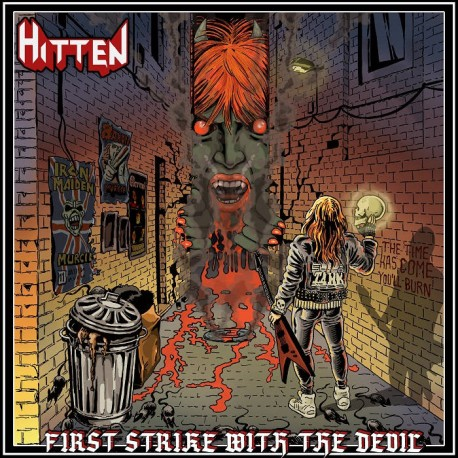 "HITTEN ""First Strike With The Devil"" CD"