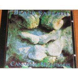 "BLACK SABBATH ‎""Canadian Nightmare"" CD"