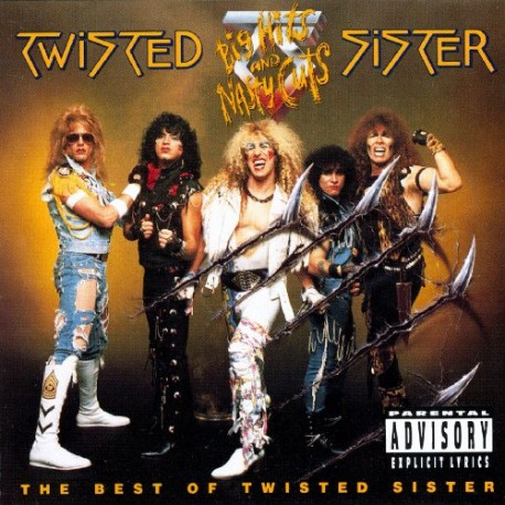 "TWISTED SISTER ""Big Hits and Nasty Cuts"" CD"