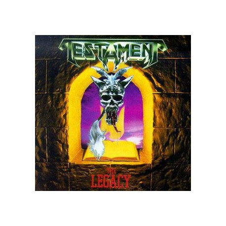 "TESTAMENT ""The Legacy"" CD"