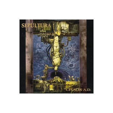 """SEPULTURA """"Chaos A.D"""" CD"""