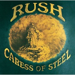 "RUSH ""Caress Of Steel"" CD"